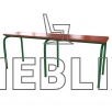 Лавки (скамейки) для раздевалки в учебное заведение