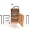 Офисная мобильная тумба для документов Т-2