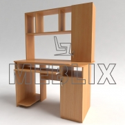 Стол компьютерный с надстройкой СКМ-3