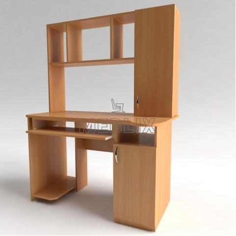 Столы для компьютера с надстройкой СКМ-3