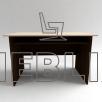 Письменный стол с полкой СР-2
