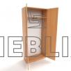 Шкаф медицинский для верхней одежды ШО-1