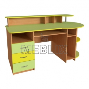 Компьютерный стол с надстройкой для учителя СК-7