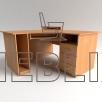 Угловой компьютерный стол СУ-2