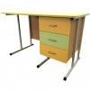 Мобильный стол для учителя на металлокаркасе