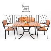 Комплект мебели Фелиция (стол+лавка+2стула)
