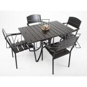 Комплект мебели Фелиция: стол + 4 стула