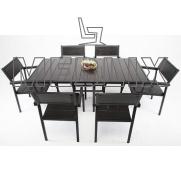 Комплект мебели Бристоль: стол + 6 стульев