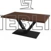 Стол для кафе ВАЛЛЕТ на металлическом каркасе