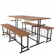 Комплект мебели для столовой на шесть человек
