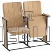 Высокое кресло для актовых залов Лига-Классическая