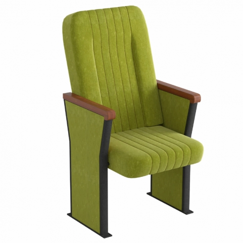 Комфортное кресло для актовых залов учебных заведений Магнум