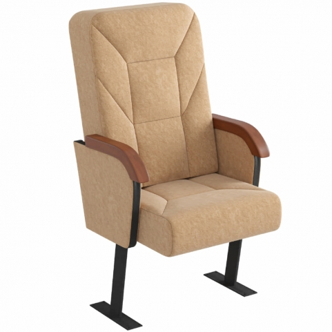 Кресло для актовых залов Приор повышенной комфортности