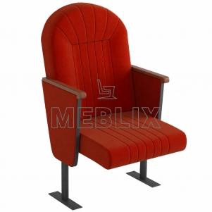 Кресло для актовых залов Сопрано с низкой спинкой