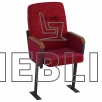 Кресла для актовых залов Стюард с высокой спинкой