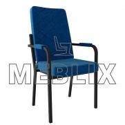 Мягкое стул-кресло БРИЗ с подлокотниками