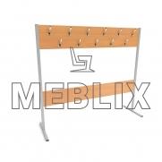 Вешалка для одежды двухсторонняя ➨ ВЛ-1