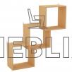 """Полка для книг """"Ступени"""" ПЛ-4"""