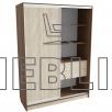 Шкаф-купе для одежды 220x160