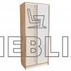 Компактный шкаф-купе в квартиру 240x100