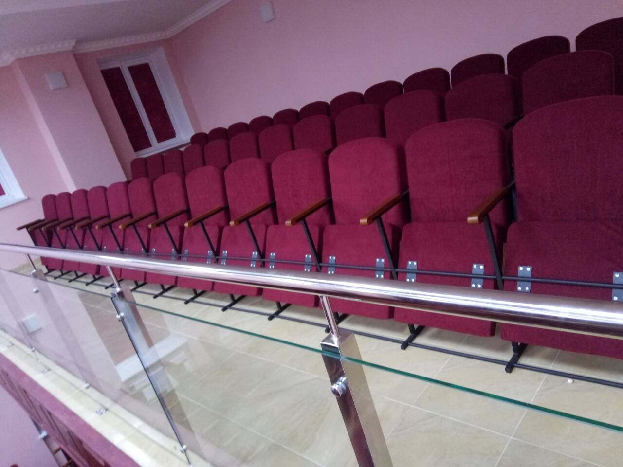 Кресла для дома культуры Классик Универсал с откидными сидениями 2