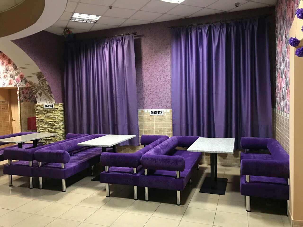 Мягкая мебель для кафе, баров и ресторанов 1