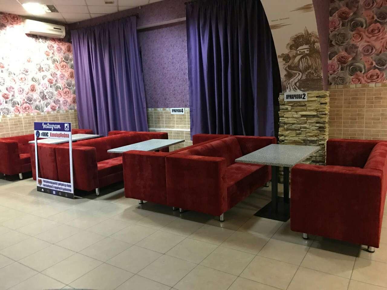 Мягкая мебель для кафе, баров и ресторанов 2