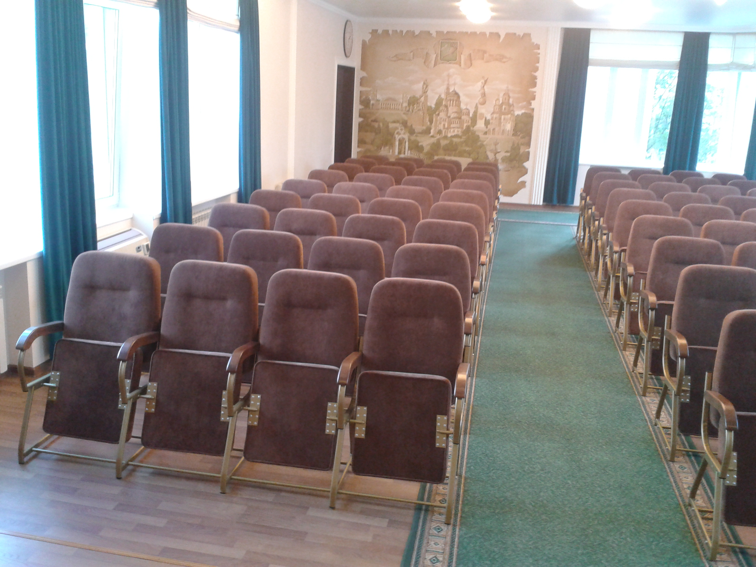 Кресла для конференц-залов Стюард Универсал 3