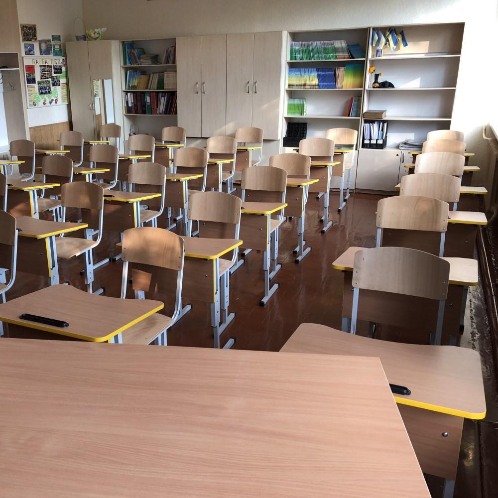 Комплекты школьной мебели для Новой украинской школы (НУШ)